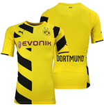 2014-2015 Borussia Dortmund Authentic Home Puma Shirt