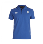 2014-2015 Cardiff Blues Rugby Cotton Polo Shirt (Blue)