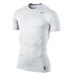 Nike Core Compression 2.0 Short Sleeve Top (White)