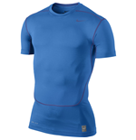 Nike Core Compression 2.0 SS Top (Blue)