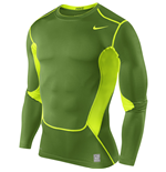 Nike Hypercool Compression LS Top (Green)