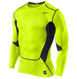 Nike Hypercool Compression LS Top (Volt)