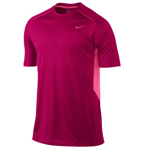 Nike Mens Legacy SS Training Top (Pink)