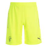 2014-2015 Rangers Home Goalkeeper Shorts (Yellow)