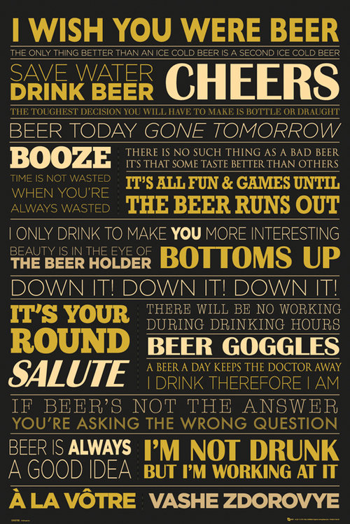 Beer Life Maxi Poster