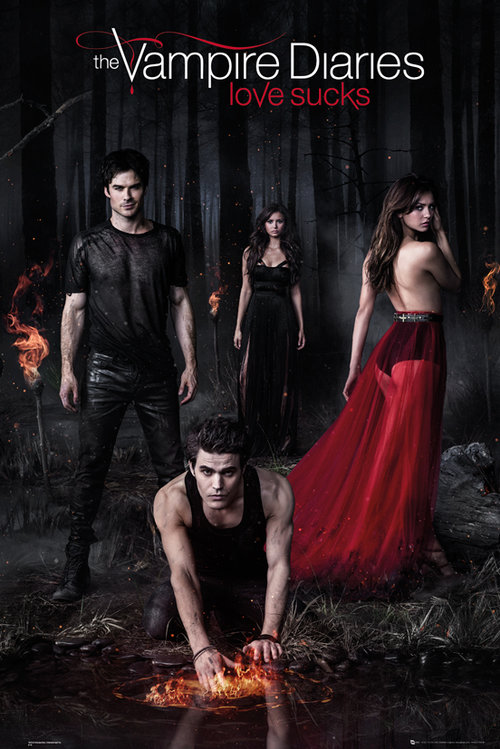 The Vampire Diaries Woods Maxi Poster