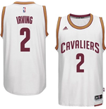 Mens Cleveland Cavaliers Kyrie Irving adidas White New Swingman Home Jersey