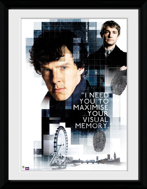 Sherlock Memory Framed Collector Print