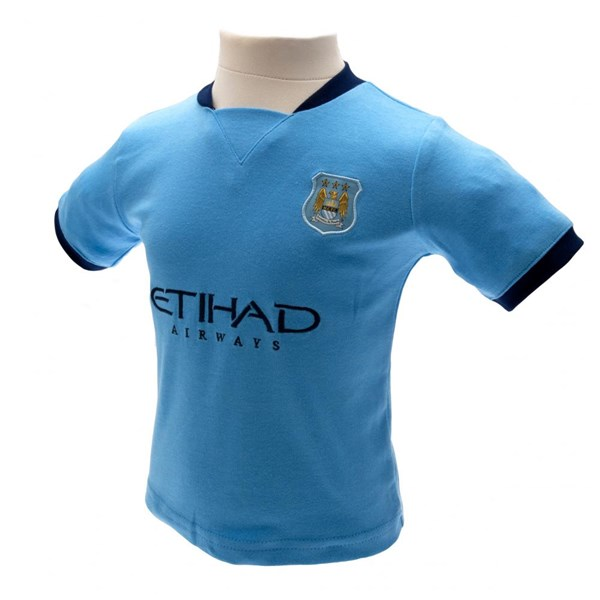Manchester City F.C. Shirt & Short Set 9/12 mths