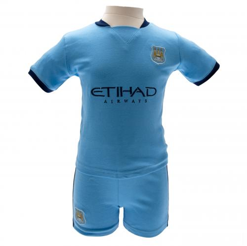 Manchester City F.C. Shirt & Short Set 6/9 mths