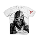 DISHONORED Corvo: Bodyguard, Assassin Large T-Shirt, White