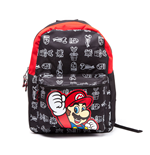 Nintendo Backpack Black Super Mario