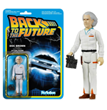 Back to the Future ReAction Action Figure Doc Brown 10 cm