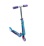 DISNEY Frozen Two Wheel Foldable Scooter with Adjustable Handle and Carry Strap