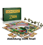 The Legend of Zelda Board Game Monopoly *German Version*