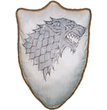 Game of Thrones Throw Pillow Sigil House Stark 56 cm