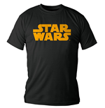 Star Wars T-Shirt Orange Logo