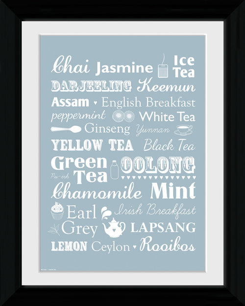 Tea Types Collector Print