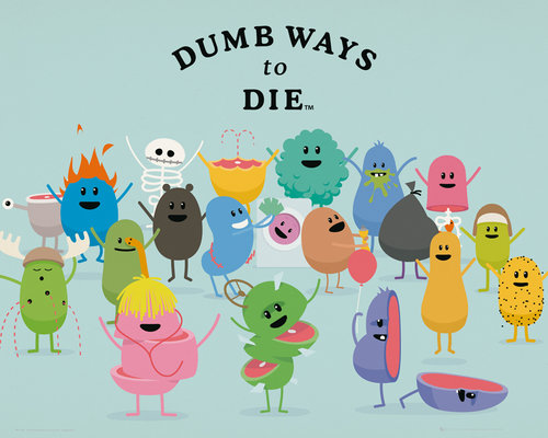 Dumb Ways to Die Characters Mini Poster