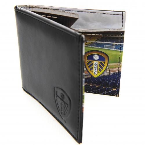 Leeds United F.C. Leather Wallet Panoramic 801