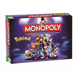 Pokemon Board Game Monopoly *French Version*