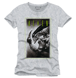 Alien T-Shirt Cover To Be Or Not grey