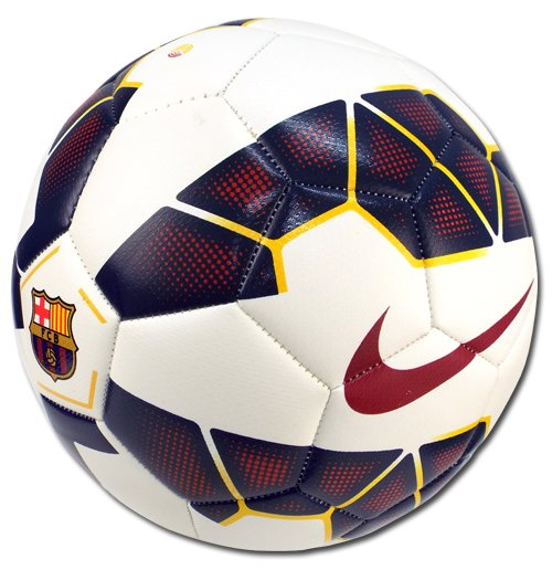 2014-2015 Barcelona Nike Prestige Football (White)