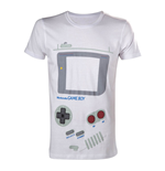 NINTENDO Original Classic Gameboy Interface Large T-Shirt, White