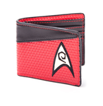 STAR TREK Into Darkness Engineering Logo Bi-fold Wallet, Red-Dark Grey