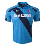 2014-15 Stoke City Adidas Away Football Shirt