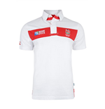 England RWC 2015 Chestband Rugby Jersey (white)