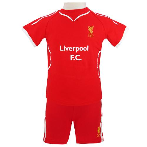 Liverpool F.C. Shirt & Short Set 2/3 yrs SW