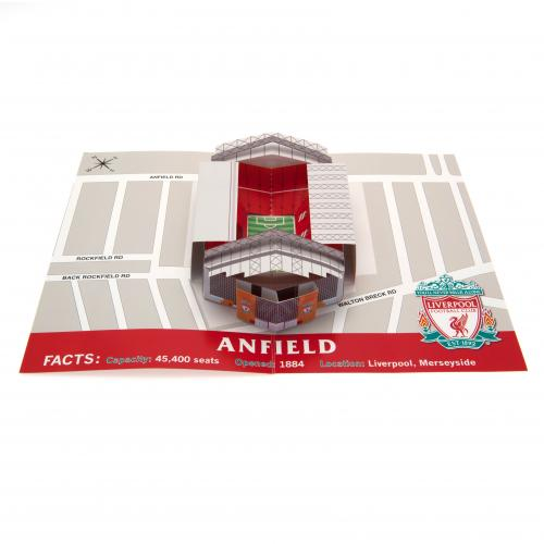 Liverpool F.C. Pop-Up Birthday Card