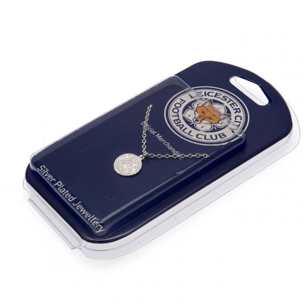 Leicester City F.C. Silver Plated Pendant & Chain