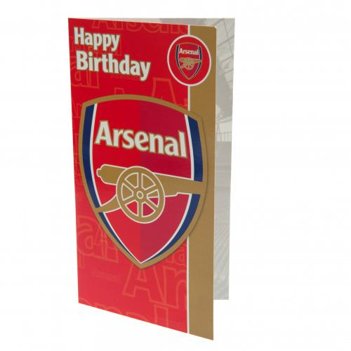 Arsenal F.C. Birthday Card