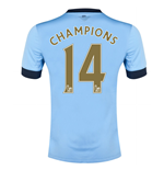 2014-15 Manchester City Home Shirt (Champions 14)