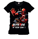 Deadpool T-Shirt Bite Me