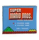 NINTENDO Super Mario Bros. 1985s Retro Gameplay Bi-fold Wallet
