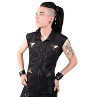 Aderlass Metal Vest Denim