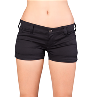 Black Pistol Lapel Panty Denim