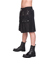 Black Pistol Eye Kilt Denim