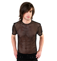 Black Pistol Basic T-Shirt Fine Net