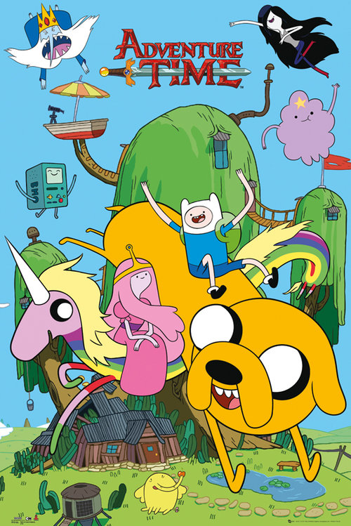 Adventure Time Tree House Maxi Poster