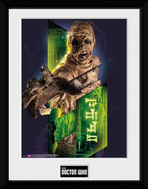 Doctor Who Mummy Framed Collector Print