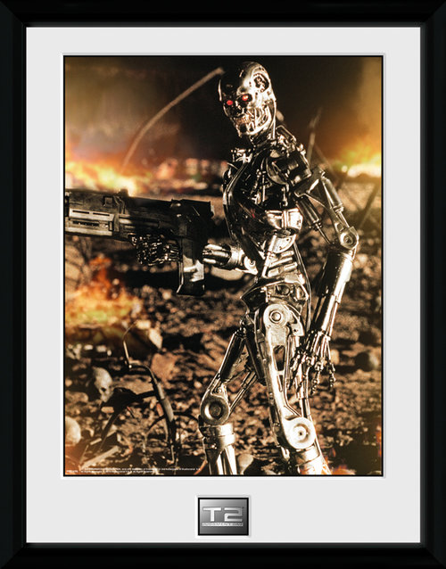Terminator 2  Framed Collector Print