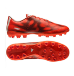 adidas F10 AG Mens Football Boots (Red-White-Black)
