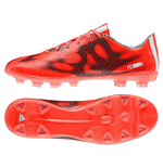 adidas F10 HG Mens Football Boots (Red-White-Black)