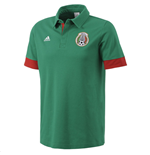 2015-2016 Mexico Adidas Polo Shirt (Green)
