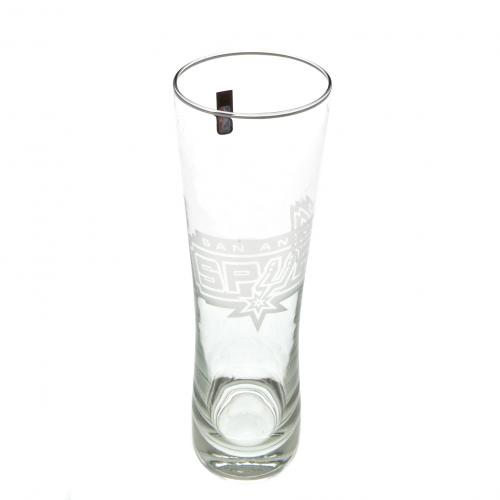 San Antonio Spurs Tall Beer Glass