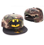 Batman Adjustable Cap Camouflage Logo
